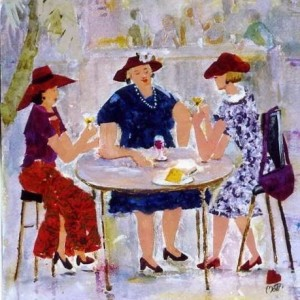 Ms-havachat: Women And Lunch Time Conversation